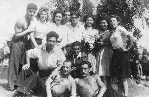 Uno de los españoles, ex guerrillero soviético en la lucha contra la Alemania nazi