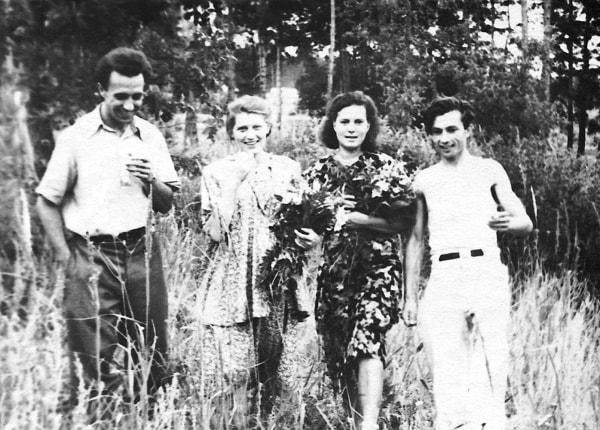 Mijail Sorokin, Inna, Liusia Sátina y Virgilio de los Llanos Más