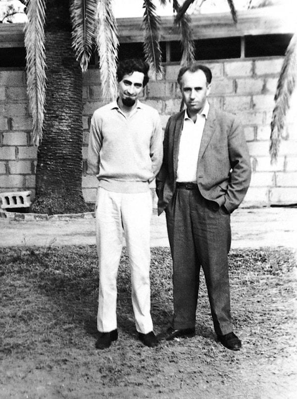 El responsable de la construcción de la termoeléctrica de Mariel, Enrique Zamorano, y el ingeniero jefe Pedro Reinosa Mendoza que en realidad ha sido Virgilio de los Llanos Más