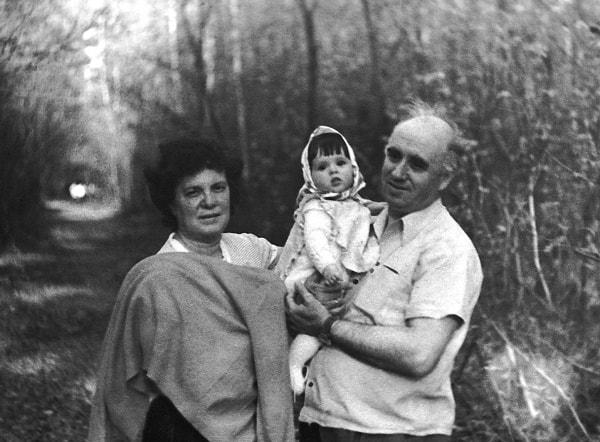 Inna, Ksenia y el autor