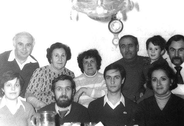 La simpática familia valenciana de los Tronchoni-Llanos, 1978