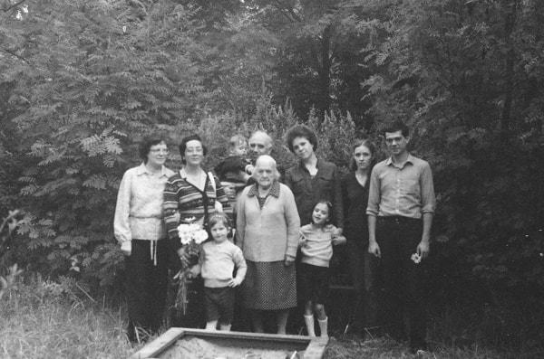 En Tarásovka con nuestros sobrinos valencianos José María y María Teresa. Foto de José María Tronchoni
